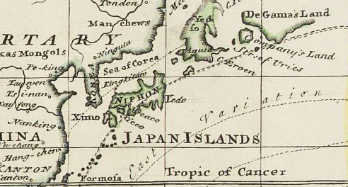 Historical Maps Of Japan JapanUnited States Relations Wikipedia - 19th century japanese map of us