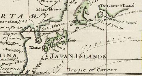 KOREA IN OLD MAPS - Japan map 1920