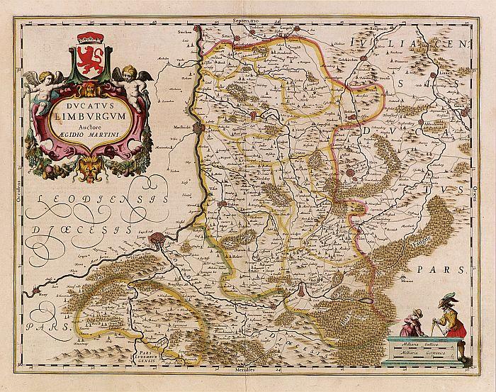 HONDIUS,H. -  Ducatus Limburg.