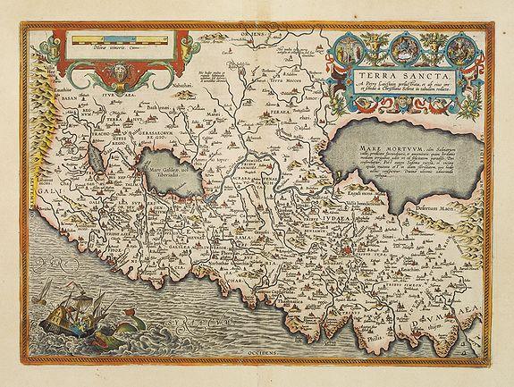 ORTELIUS, A. -  Terra Sancta.