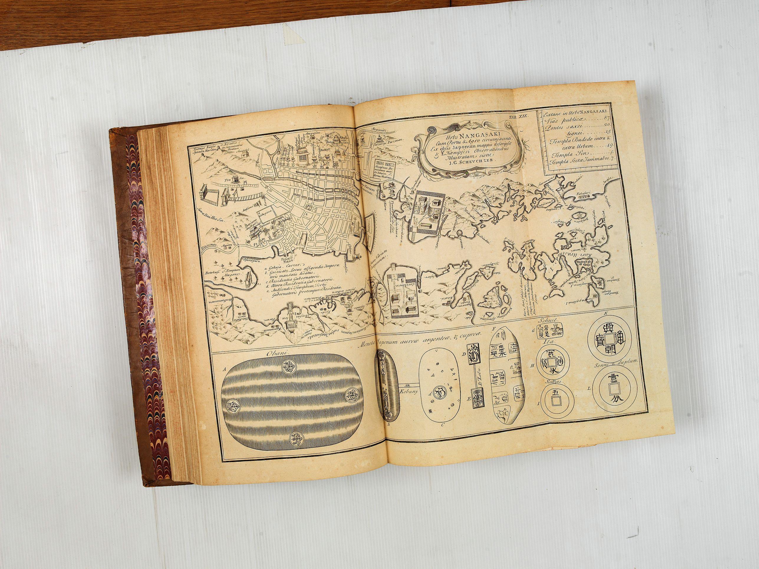 KAEMPFER, E. -  Histoire Naturelle, Civile, Et Ecclésiastique..'