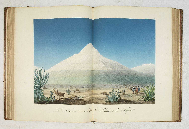 HUMBOLDT, A. VON - Vues des Cordillères et Monuments des Peuples Indigènes de l Amérique. . .