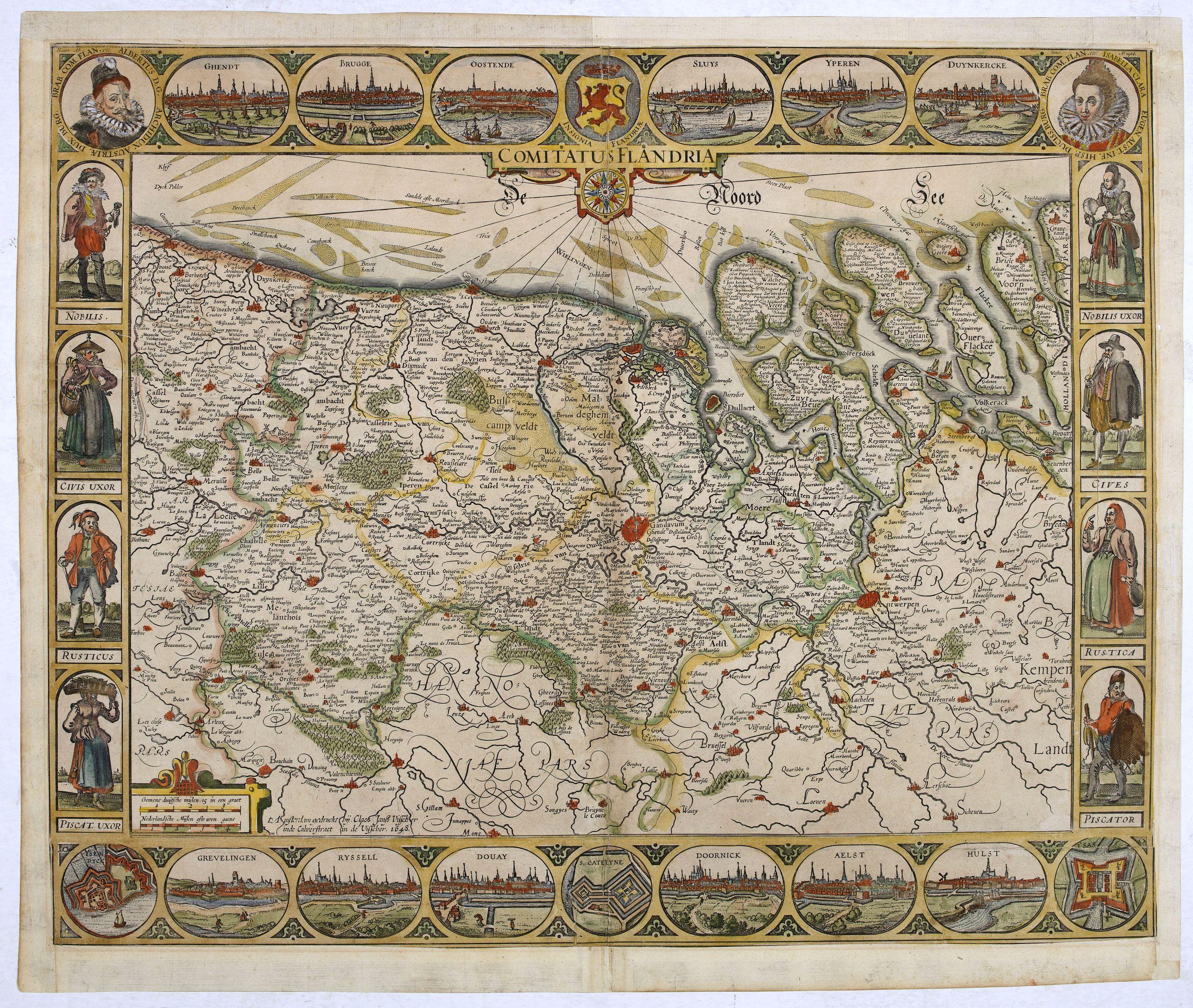 VISSCHER, C.J. -  Comitatus Flandria.