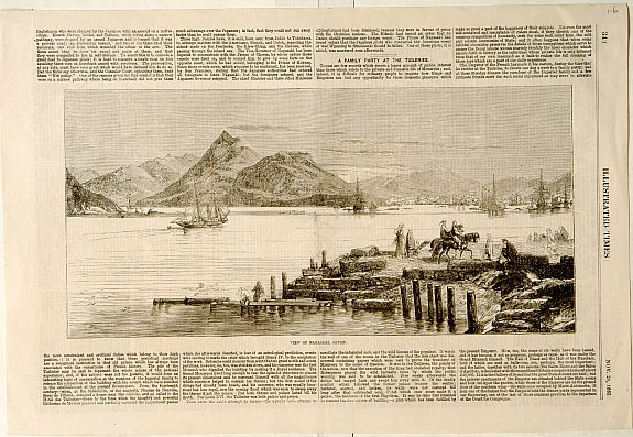 ILLUSTRATED TIMES. -  View of Nagasaki, Japan.