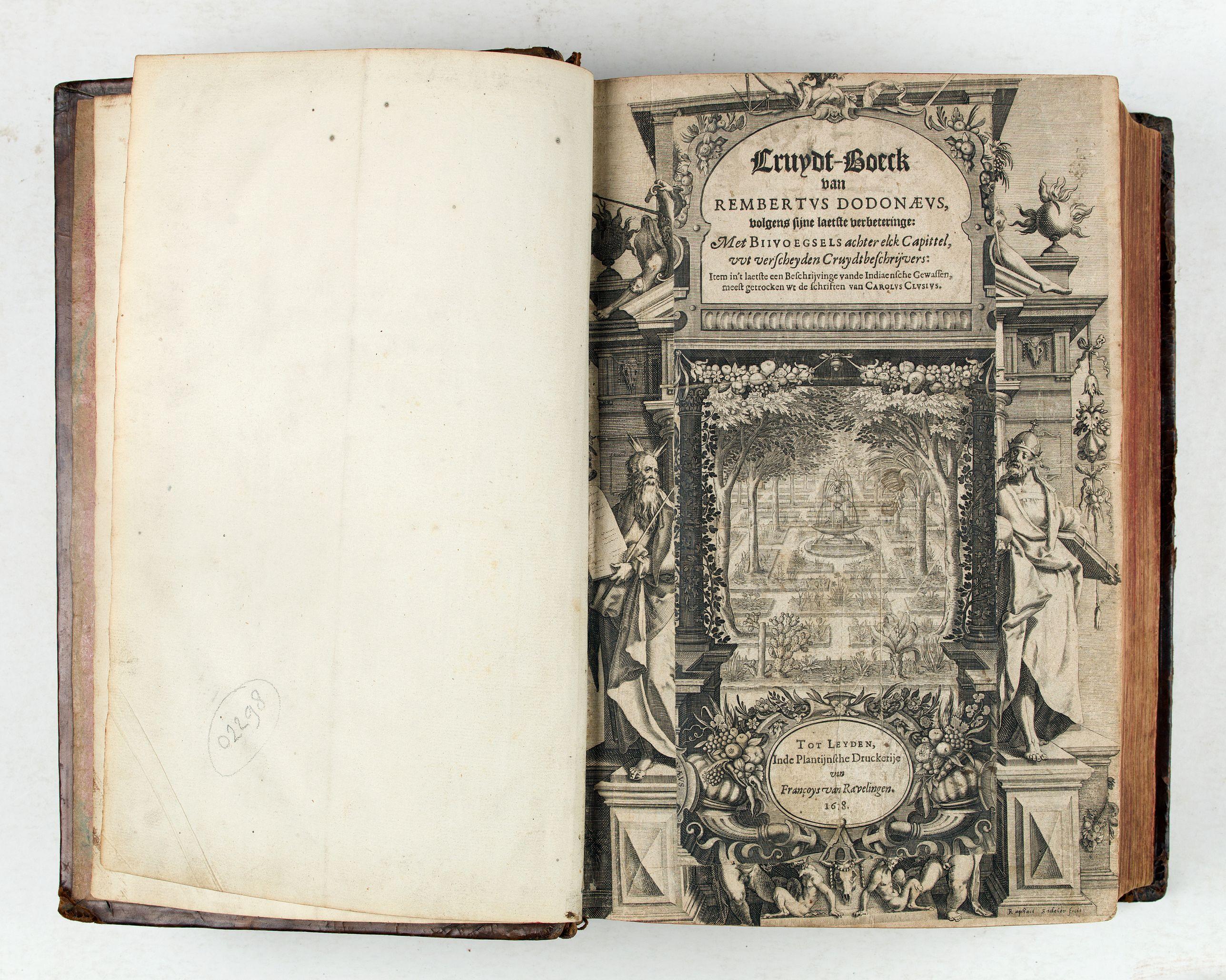 DODONAEUS, R. -  Cruydt-Boeck van Remberus Dodonaeus. . .