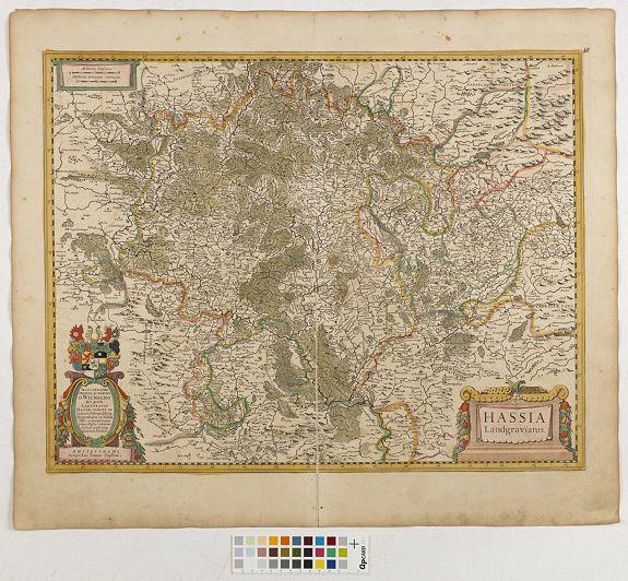 JANSSONIUS, J. -  Hassia Landgraviatus.