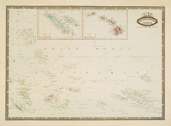 GARNIER, F.A. -  Les divers archipels de L'Oceanie.