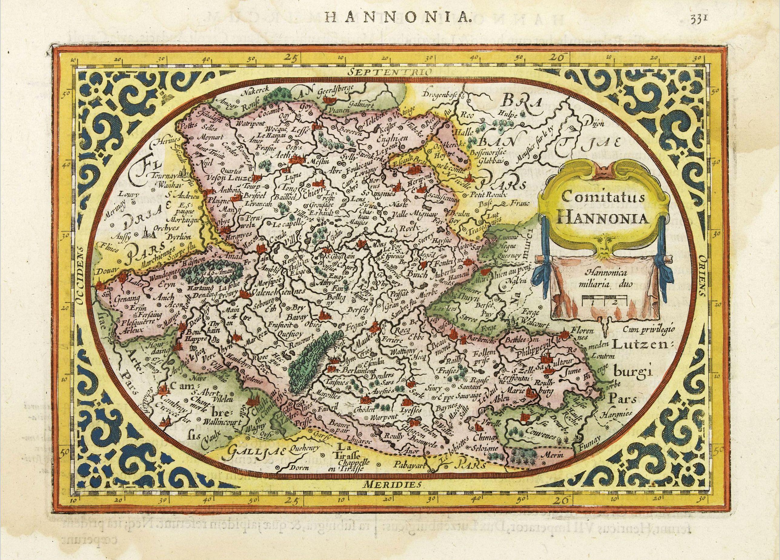 GOOS, A. -  Comitatus Hannonia.