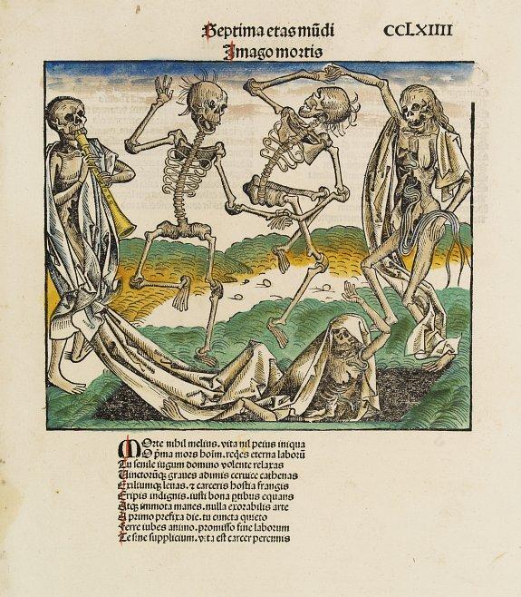 SCHEDEL, H. -  Dance of Death.