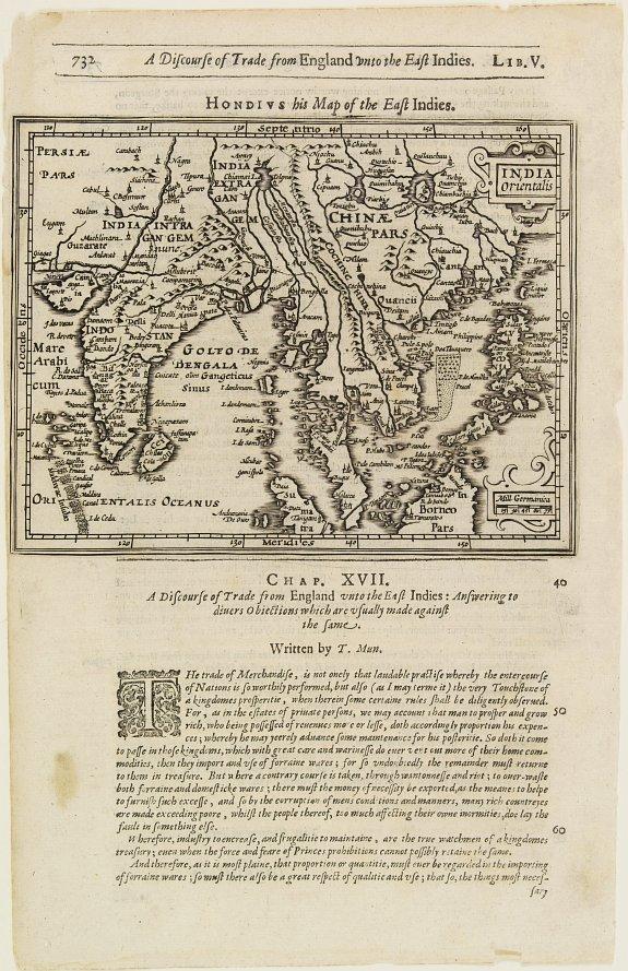 HONDIUS, J. / PURCHAS, S. -  India Orientalis.