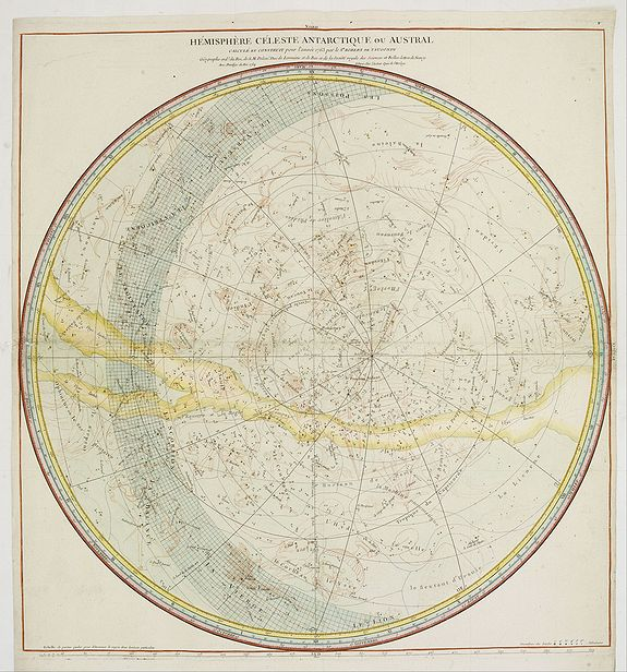 ROBERT DE VAUGONDY, G. -  Hemisphere Celeste Antarctique ou Austral..