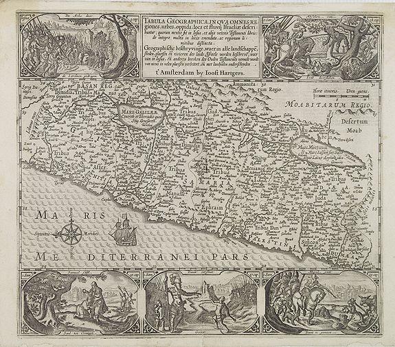 PLANCIUS, P./ HARTGERS, J. -  Tabula Geographica, in qua omnes regiones, urbes..