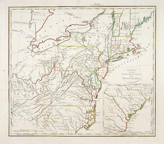 ANONYMOUS -  Gedeelte van den Vereenigden Staat van Noord Amerika.