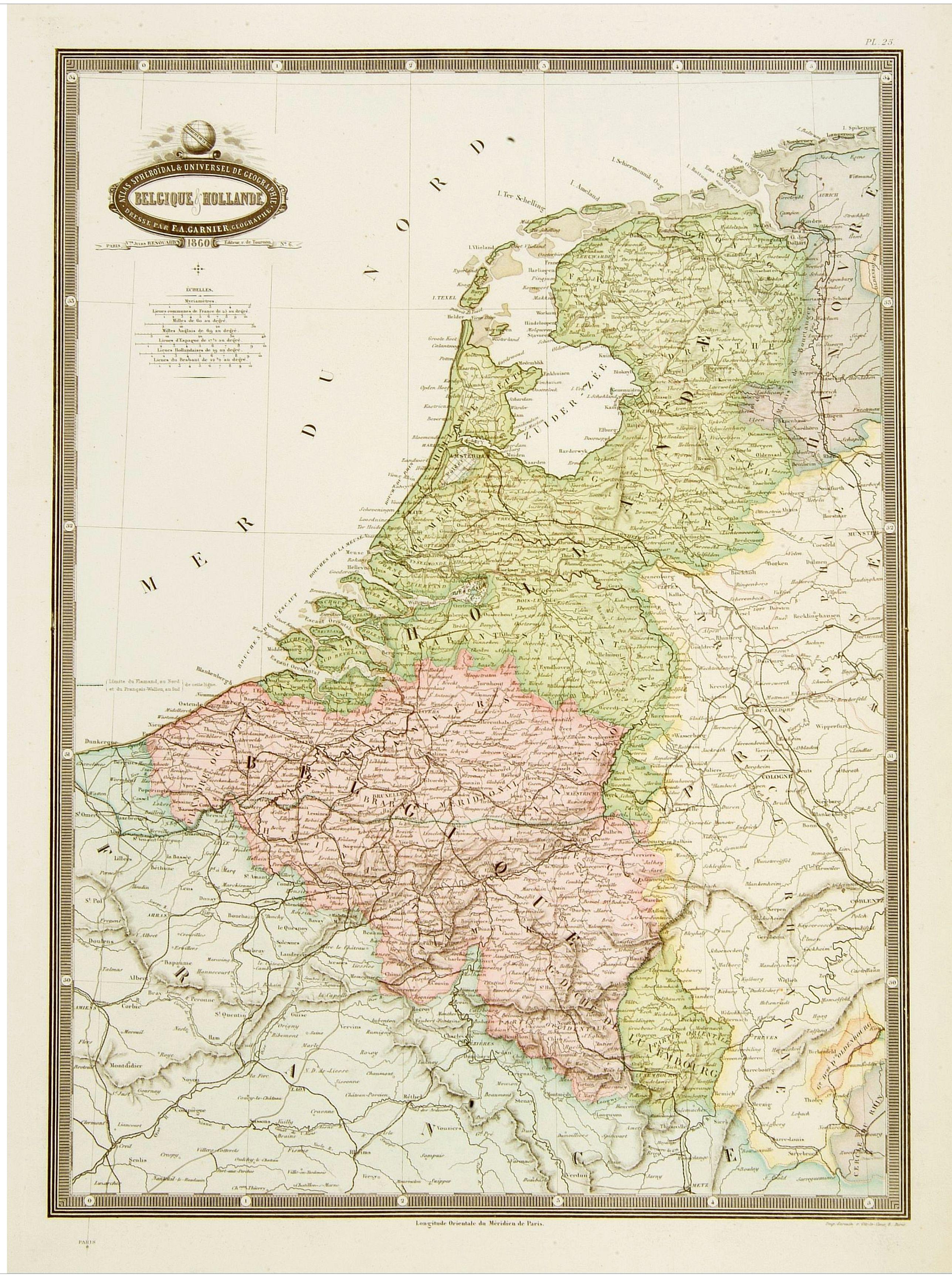 GARNIER, F.A. -  Belgique & Hollande.