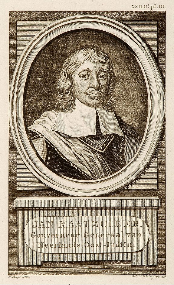VINKELES, R. -  Portrait of Jan Maatzuiker.