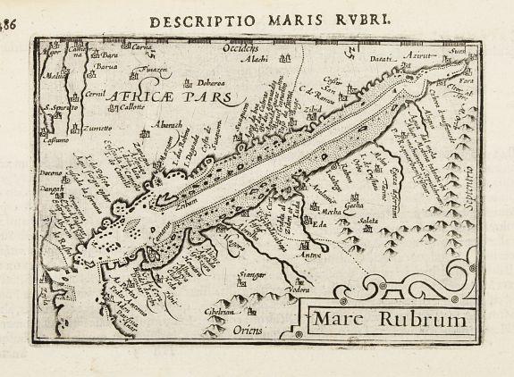 BERTIUS, P. -  Mare Rubrum.