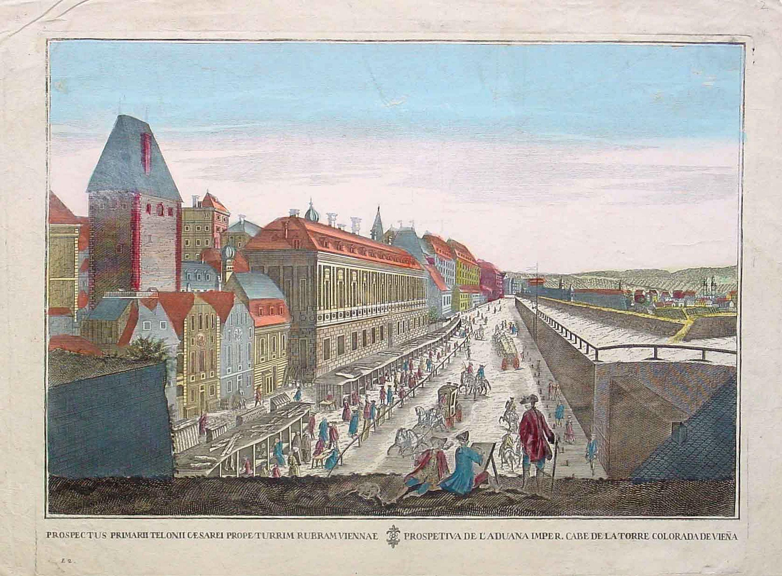 ANONYMOUS -  Prospectus primarii.. turrim rubram Viennae.