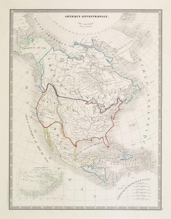 ANONYMOUS -  Amerique Septentrionale.