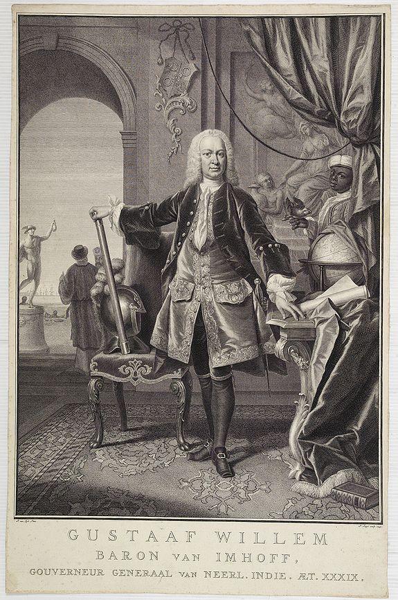 TANJÉ, P. -  Gustaaf Willem Baron van Imhoff.