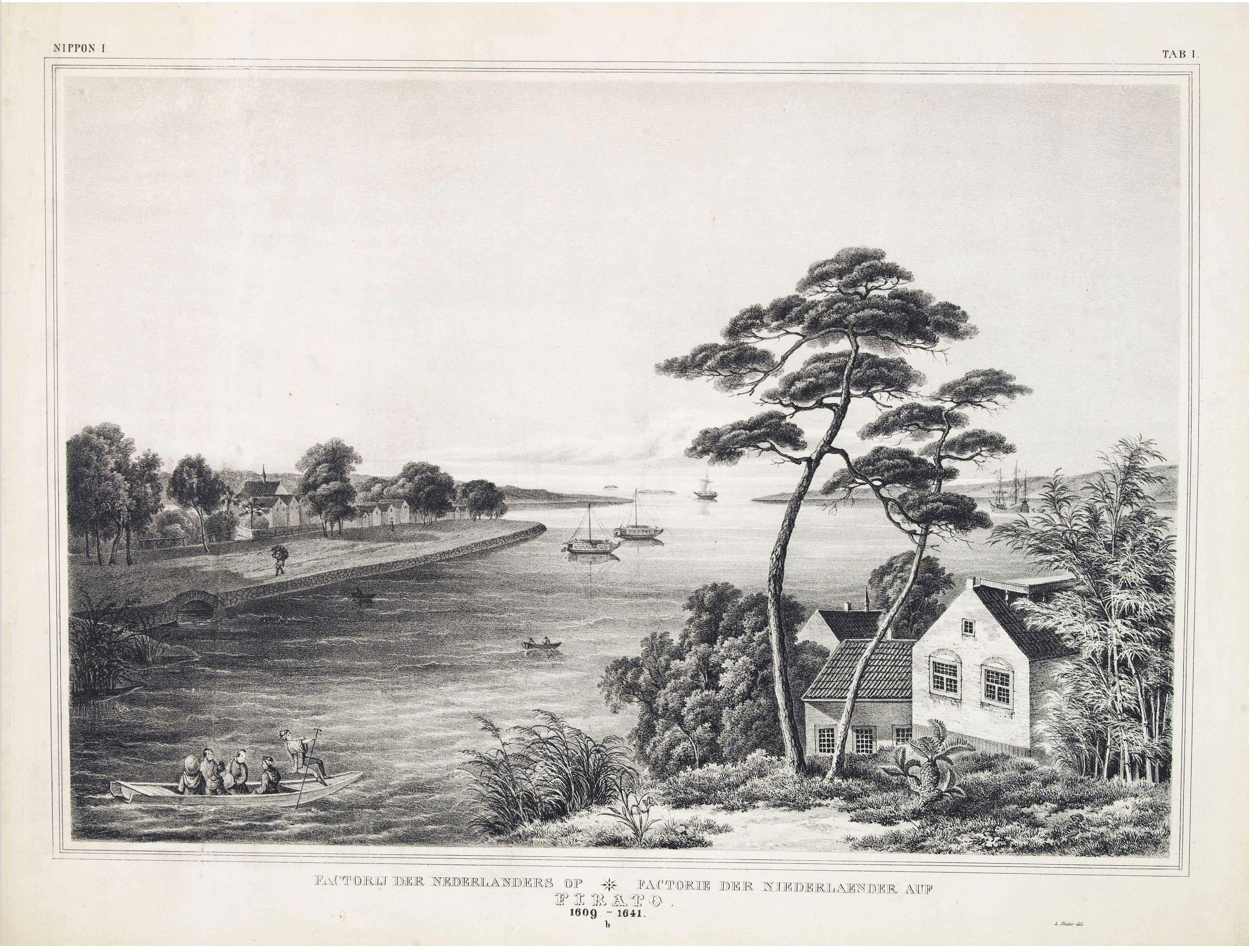 VON SIEBOLD, P.Fr.B. -  Factorij der Nederlanders op Firato.. 1609-1641.