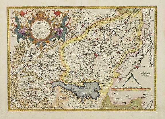 ORTELIUS, A. -  Veronae urbis territorium..