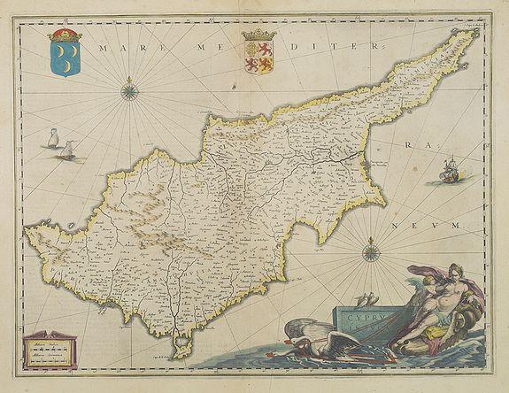 JANSSONIUS, J. -  Cyprus Insulae.