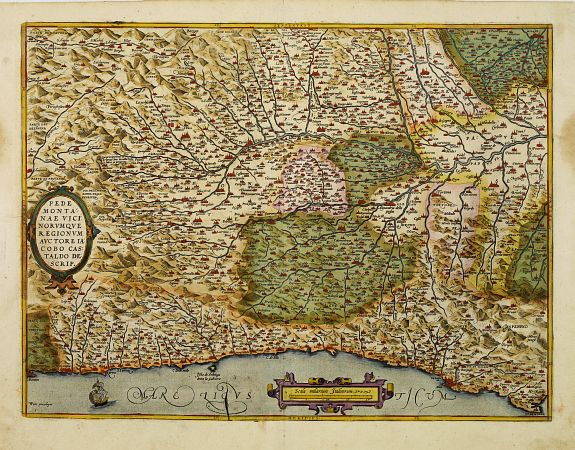 ORTELIUS, A. -  Pedemontanae vici norumque..