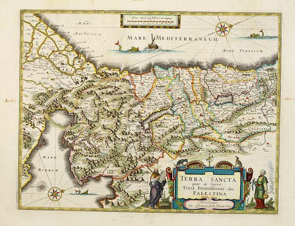 BLAEU, G. -  Terra Sancta quae in Sacris Terra Promissionis..