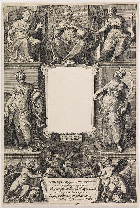 ALBRIZZI, A. -  (Title page) Principum Christianorum Stemmata.