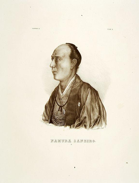 VON SIEBOLD, P.Fr.B. -  Namura Sanziro.