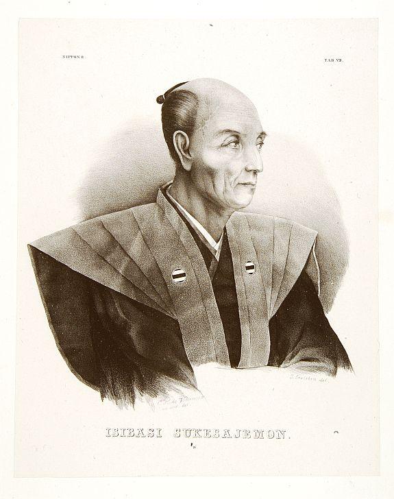 VON SIEBOLD, P.Fr.B. -  Isibasi Sukesajemon.