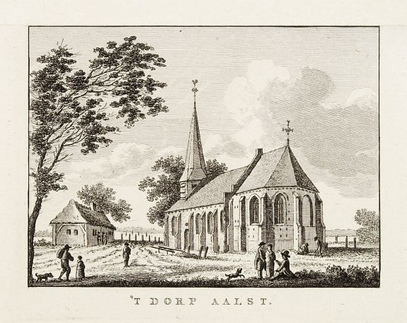 BULTHUIS, J. -  't dorp Aalst.