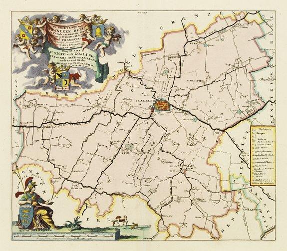 SCHOTANUS, B. -  De Grietenij van Franeker deel de tweede van Westergoo..