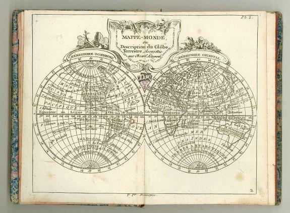 DELAPORTE,L'Abbé. -  Atlas du voyageur françois..