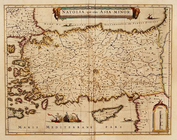 HONDIUS, H. -  Natolia, quae olim Asia Minor.