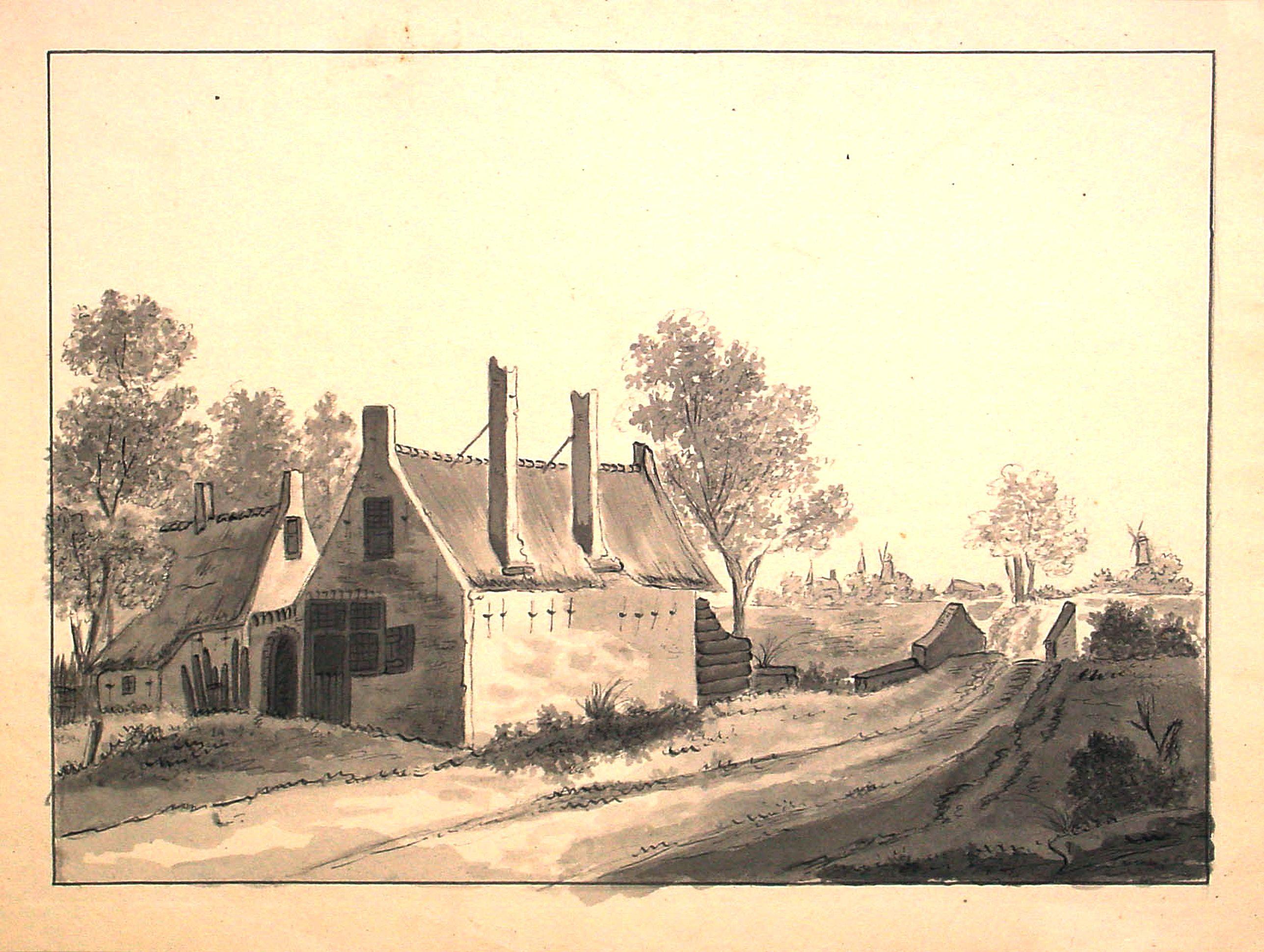 ANONYMOUS -  Dutch landscape.