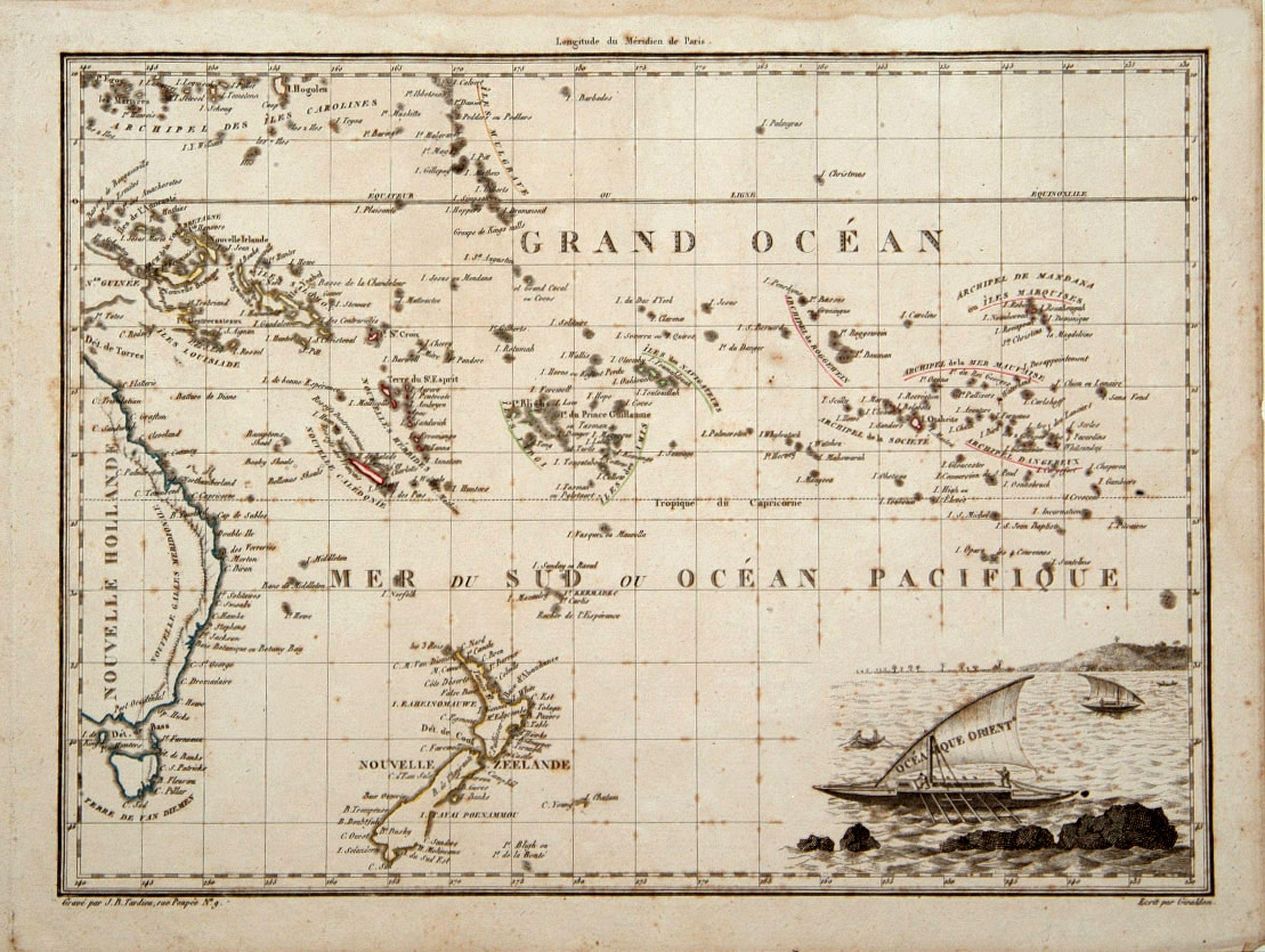 LAPIE, P. -  Océanique Oriente.
