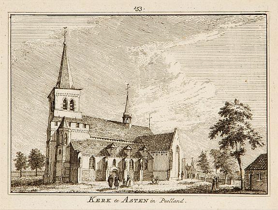 SPILMAN, H. -  Kerk te Asten in Peelland.