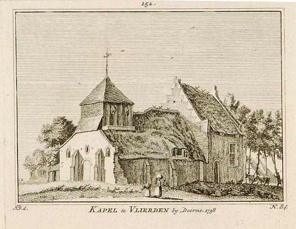 SPILMAN, H. -  Kapel van Vlierden.