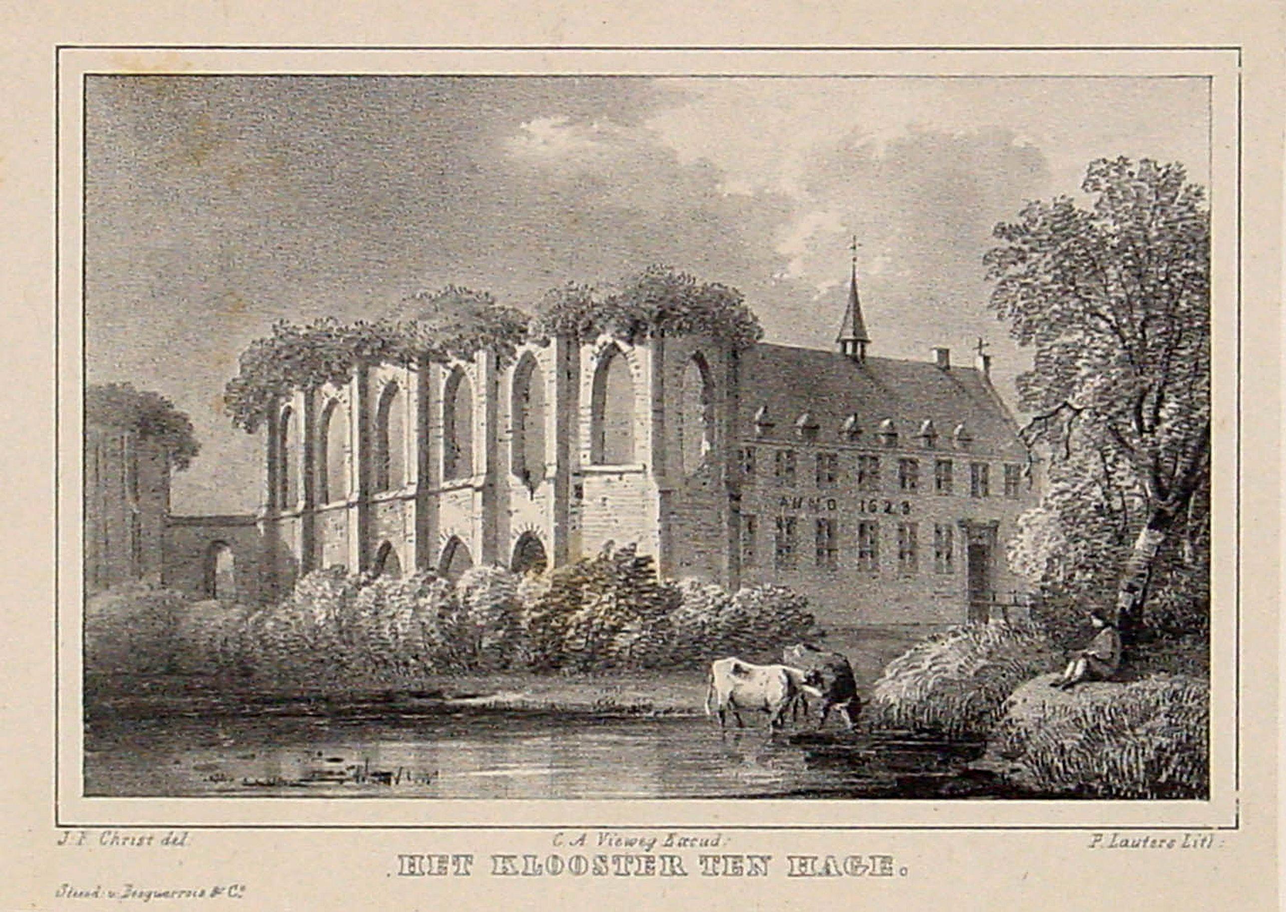 VAN DER AA, P. -  Het Klooster ten Hage (Eindhoven)