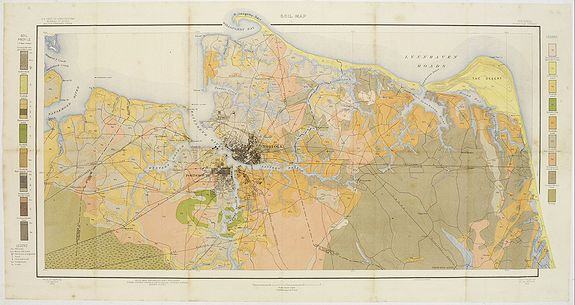 U.S. DEPT. OF ARGICULTURE -  Soil map - Virginia Norfolk Sheet.