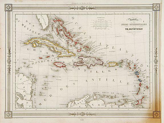 BASSET -  Antilles ou Indes Occidentales..