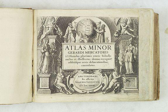 MERCATOR, G. / JANSSONIUS, J. -  Atlas Minor [Dutch edition]