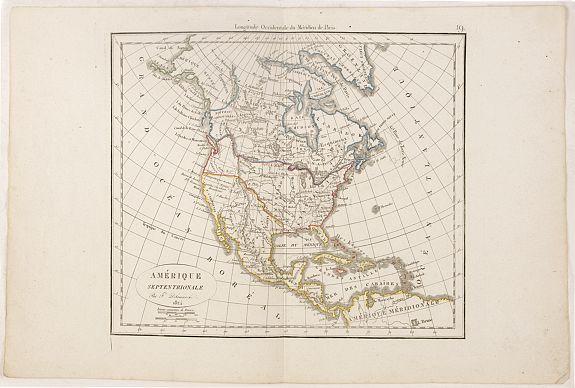 DELAMARCHE, F. -  Amérique septentrionale.