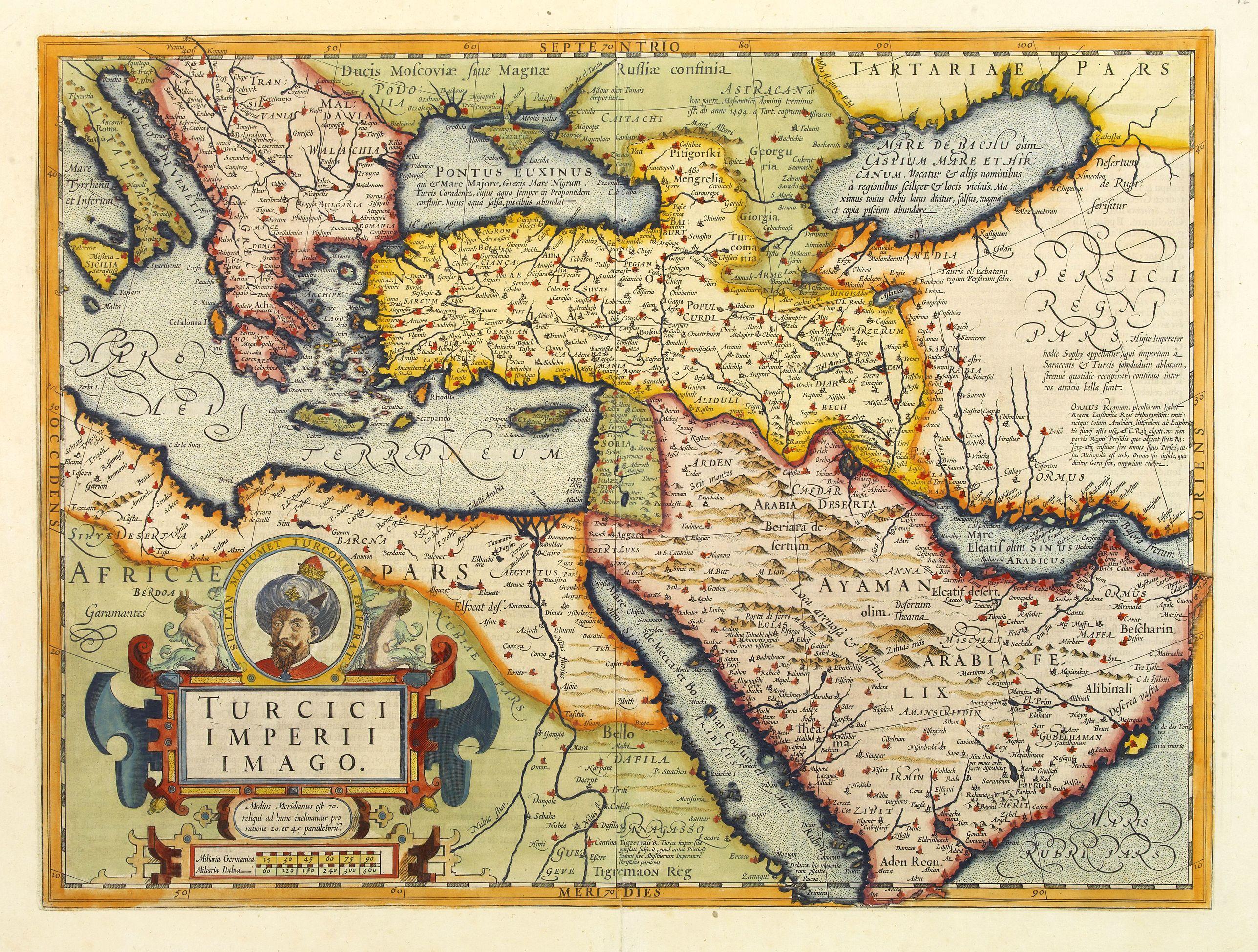 MERCATOR, G. / HONDIUS, J. -  Turcici Imperii Imago.