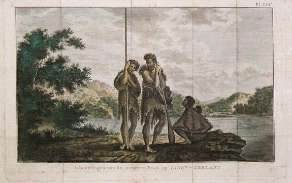 Klauber, I.S. - Inboorlingen van de Donkere-Baai op Nieuw-Zeeland.