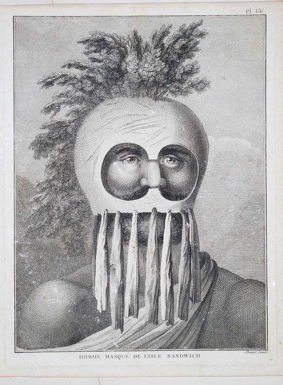 Benard - Homme Masque de l'Isle de Sandwich