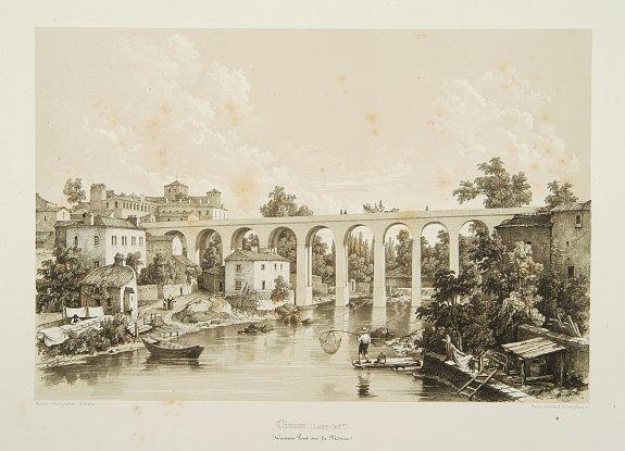 BENOIST, F. -  Clisson, (Loire-inf.re) Nouveau Pont sur la Moine.