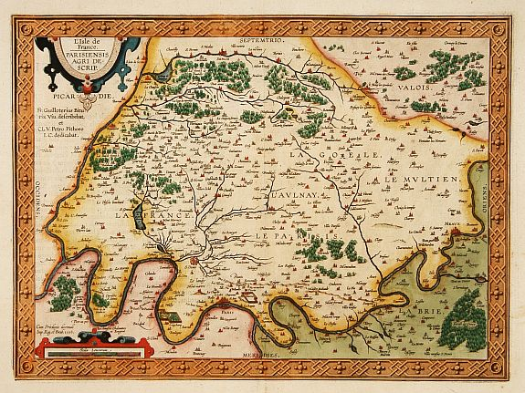 ORTELIUS, A. -  L'Isle de France.
