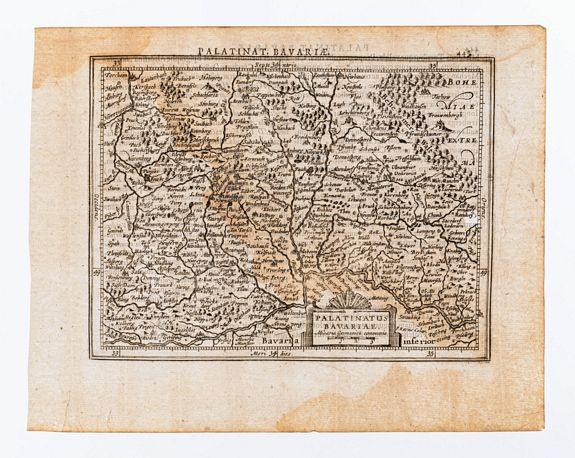 [MERCATOR, Gerard & HONDIUS, Jodocus]. -  Palatinatus Bavariae.